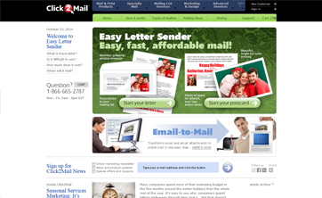 Easy Letter Sender by Click 2 Mail